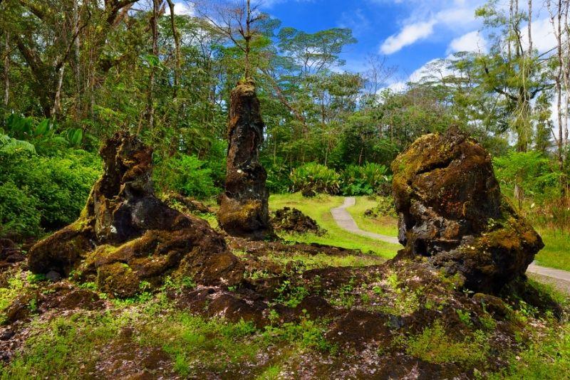 Lava Tree State Monument, Big Island, Hawaii