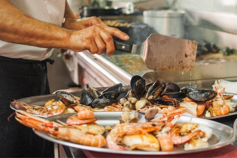 Marker 88 seafood, Key Largo