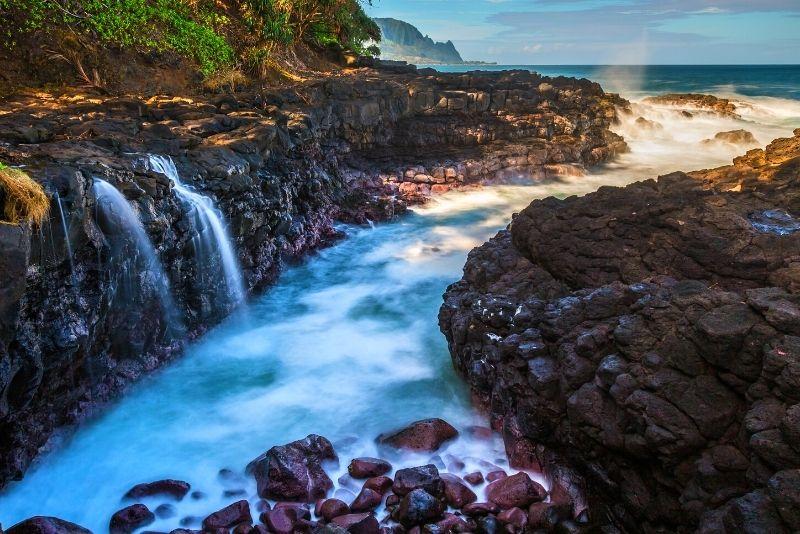 Queen's Bath, Kauai