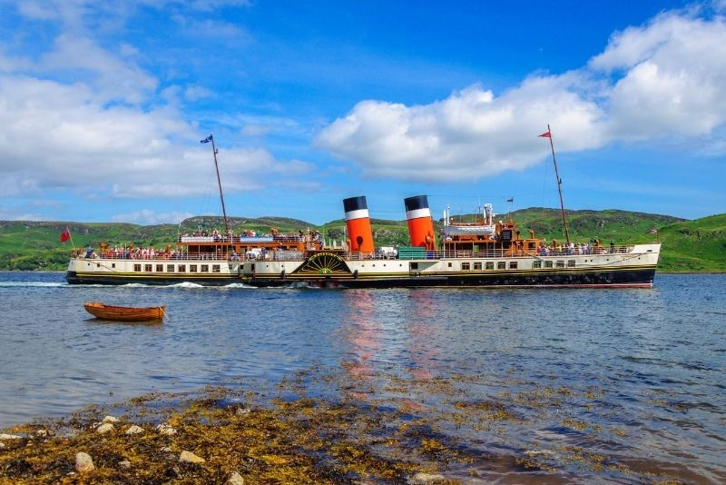 boat trip on the Waverley