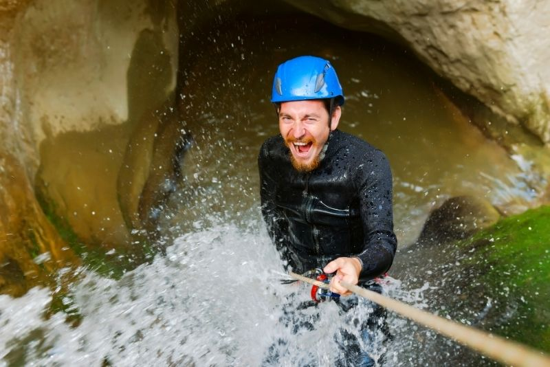 canyoning in Puerto Rico