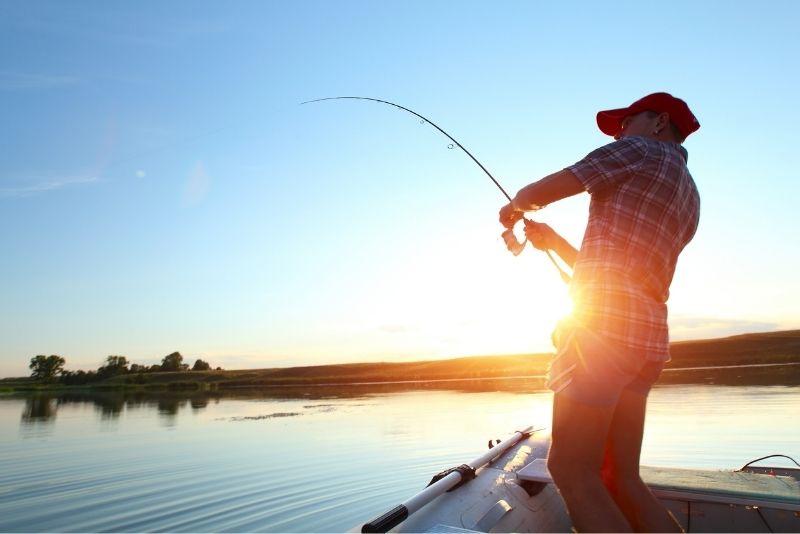 fishing in Key Largo