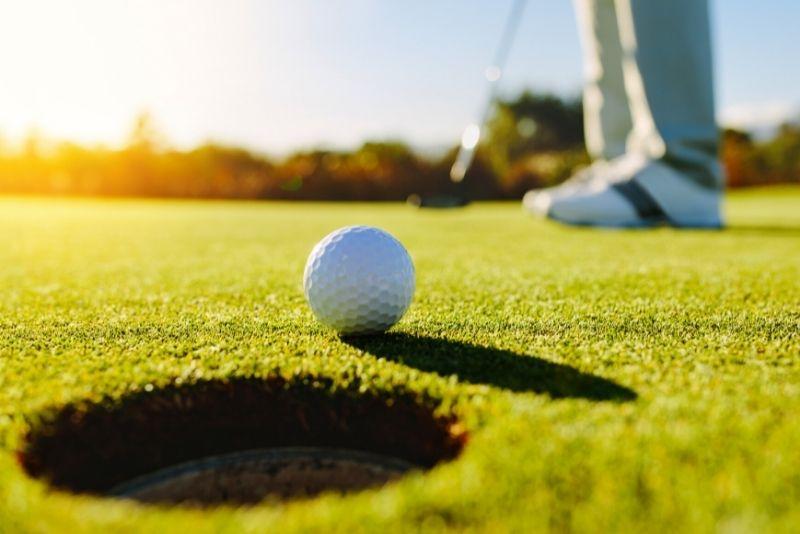 golfing in Kauai