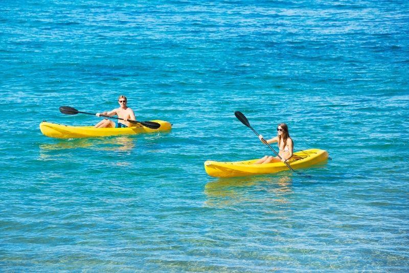 kayak tour, Big Island