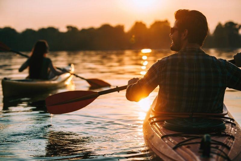 kayaking in Puerto Rico