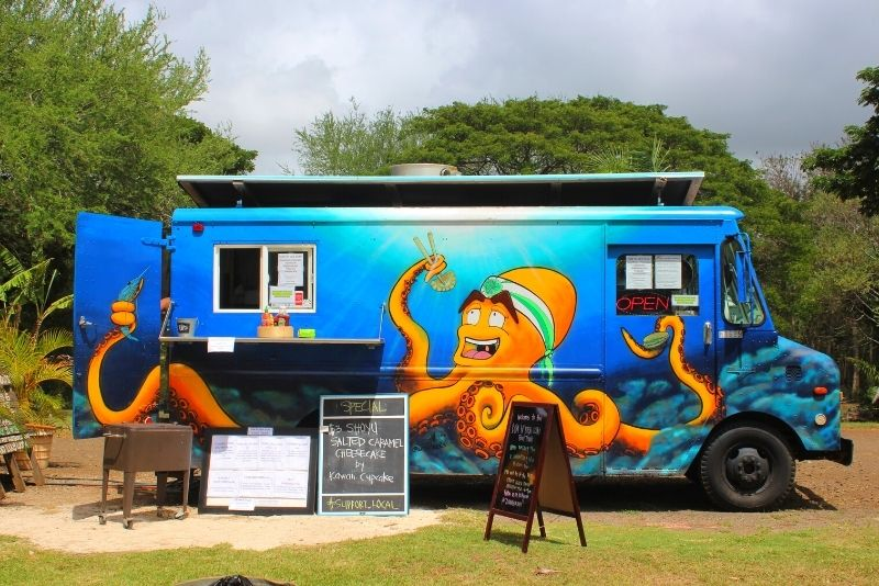 local food truck in Kauai