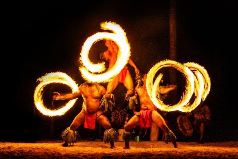 luau show, Big Island