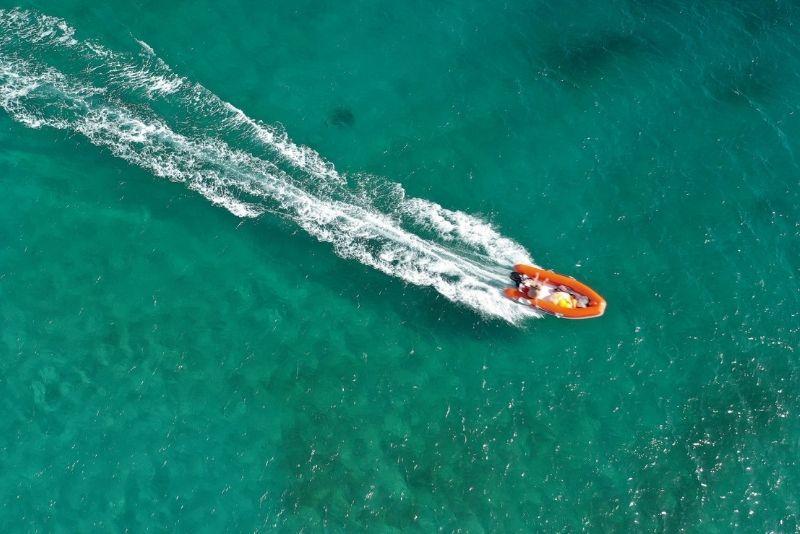 mini-boat tour in Puerto Rico