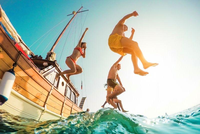 sailing boat tour, Big Island