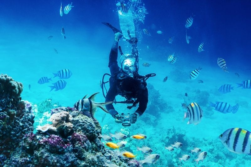 scuba diving, Big Island