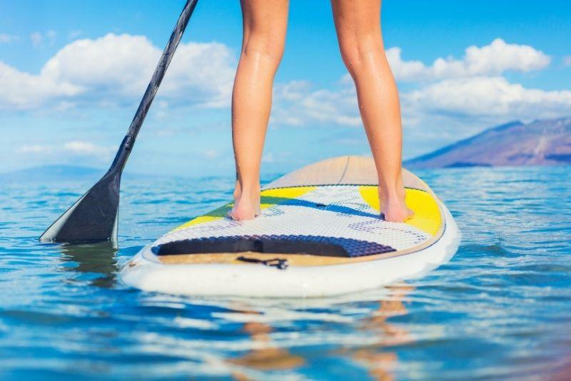 stand up paddle, Big Island