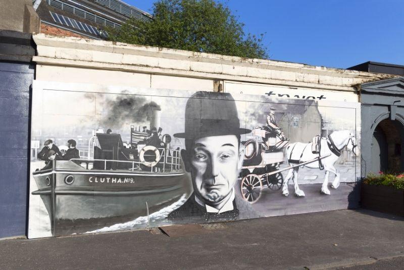 street art tour in Glasgow