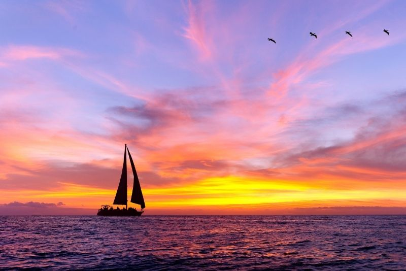 sunset boat tour in Puerto Rico
