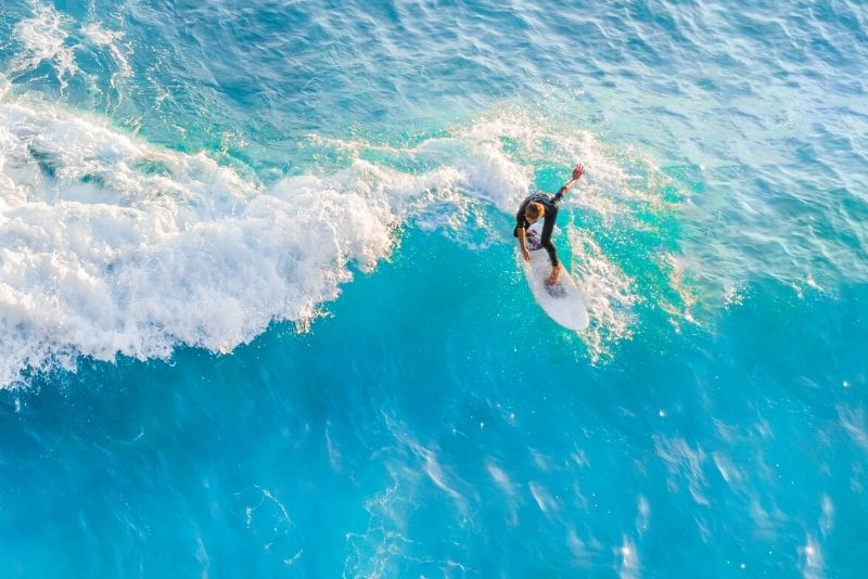 surfing in Puerto Rico