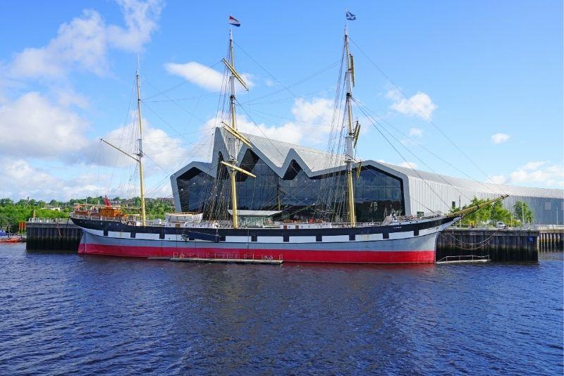 tall ship Glenlee, Glasgow