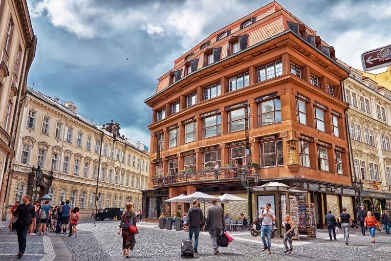 Tours de Art Nouveau y arquitectura cubista, Praga