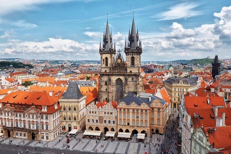 Iglesia de Nuestra Señora ante Týn en Praga