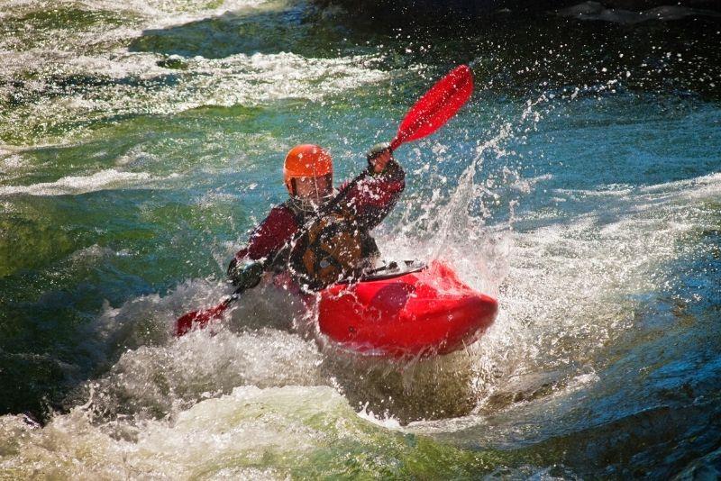 Deerfield River kayaking