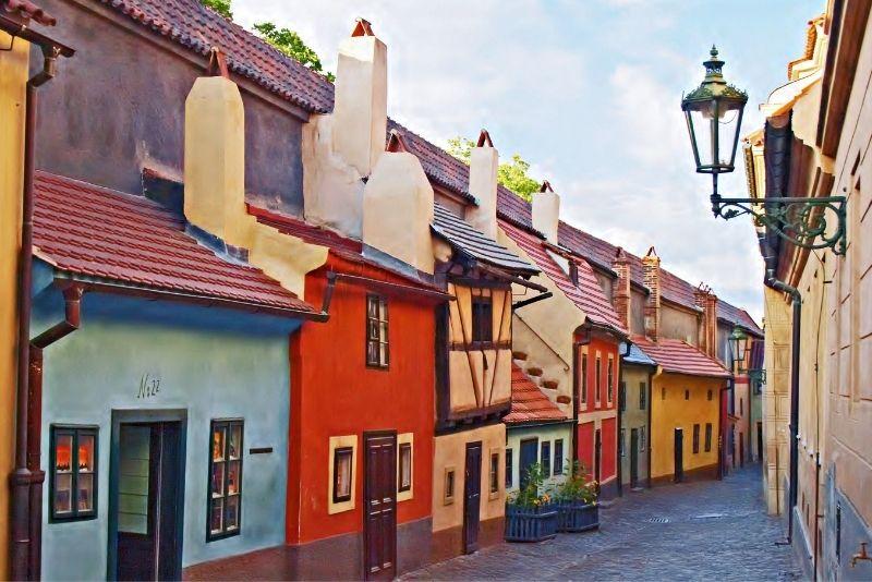 Vicolo d'Oro, Praga