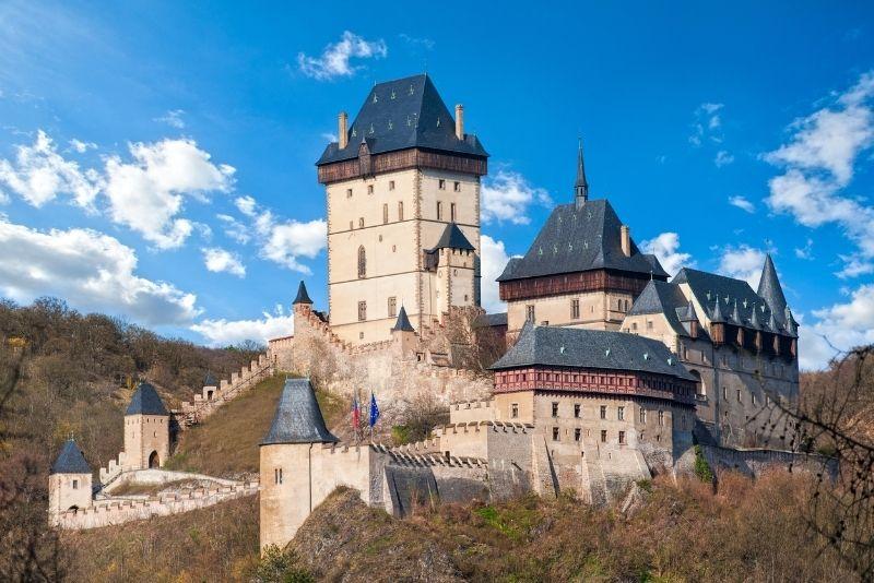 Tour del castello di Karlstejn da Praga