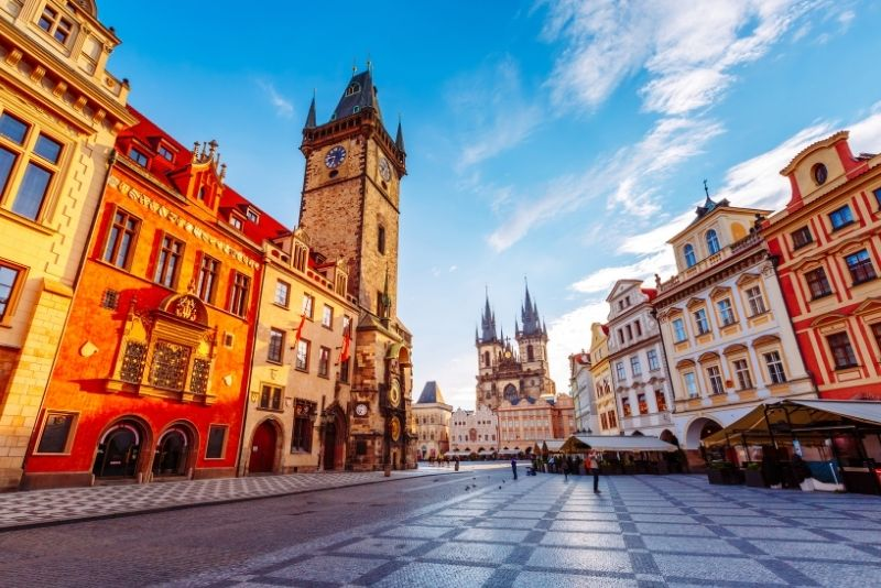 Tour por el casco antiguo de Praga