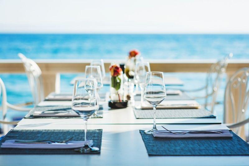 Palm Pavilion beach restaurant, Clearwater