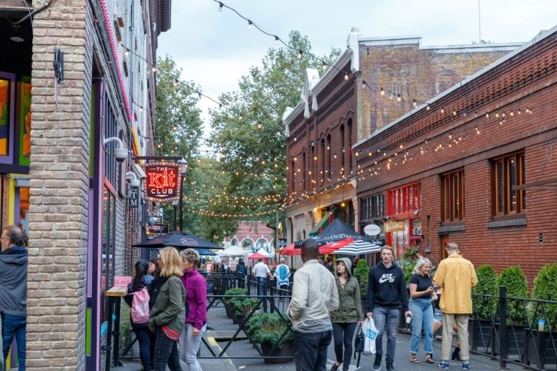 Portland Downtown, Oregon
