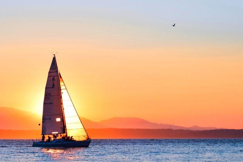 Seattle sailing trip
