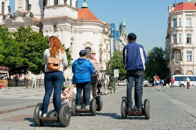 Tours en segway, Praga