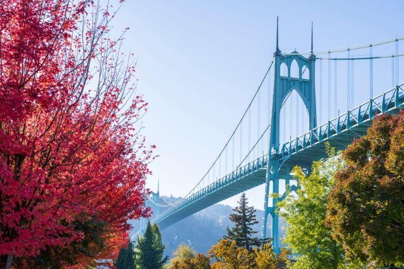 St. Johns Bridge, Portland, Oregon