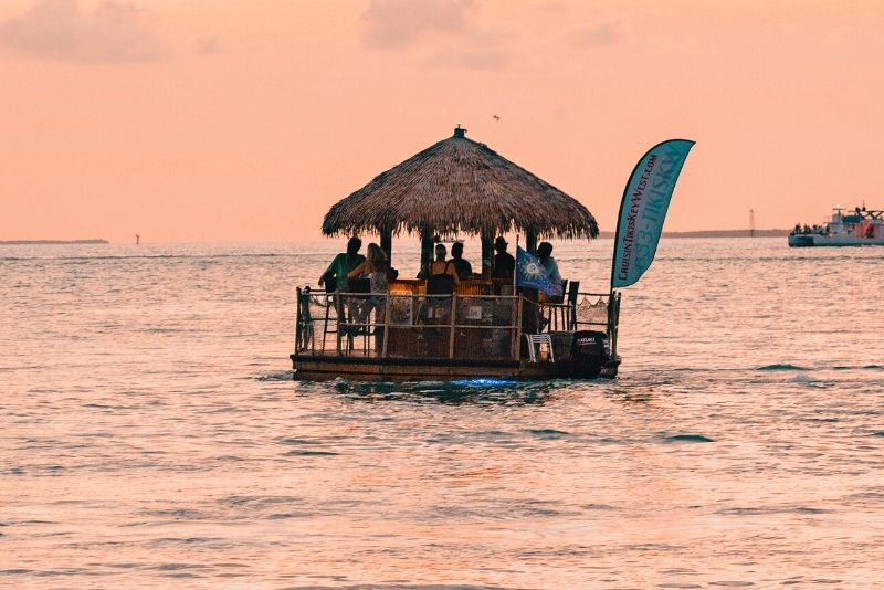 Tiki boat cruise in Clearwater