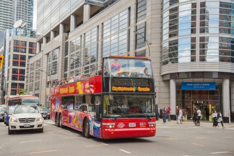 Toronto hop-on hop-off bus tour