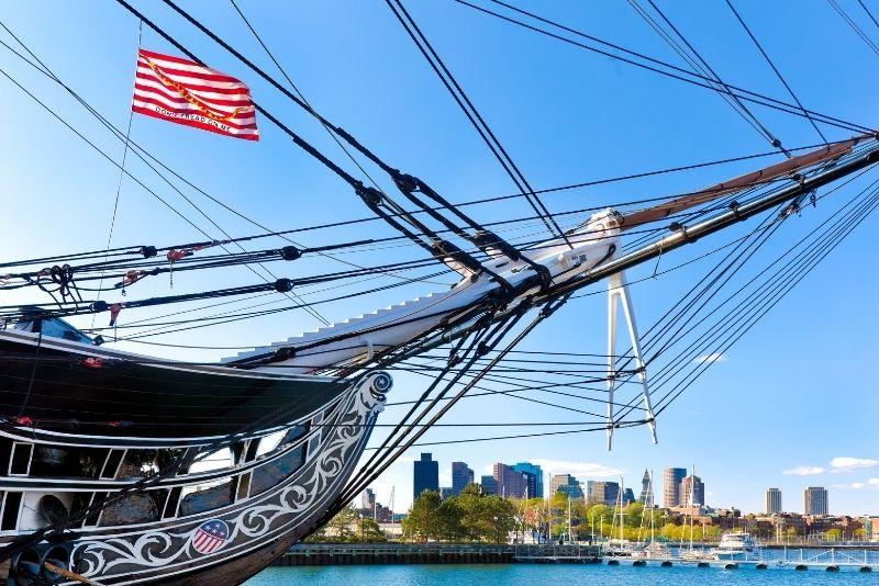 USS Constitution museum, Boston