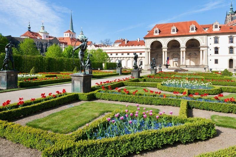 Jardín Waldstein, Praga