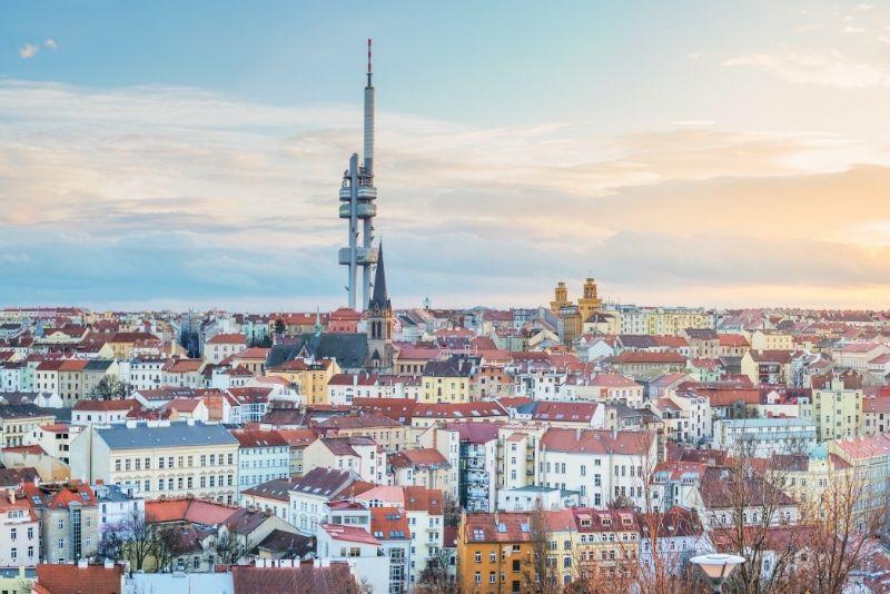 Torre della televisione di Zizkov, Praga