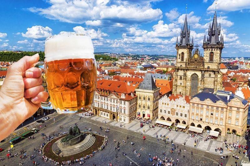 degustación de cerveza, Praga