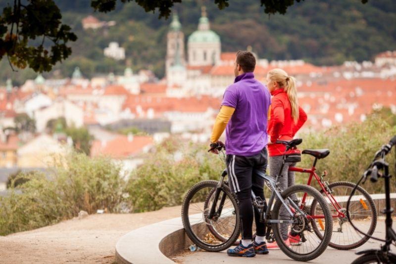 tour en bicicleta en Praga