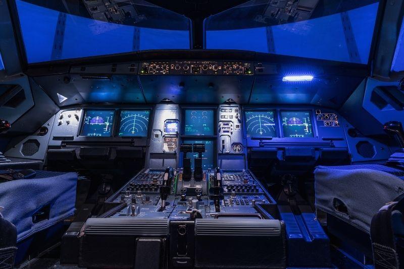 flight simulator in Clearwater