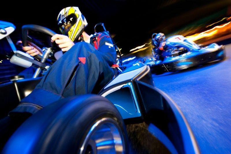 indoor go kart racing in San Antonio