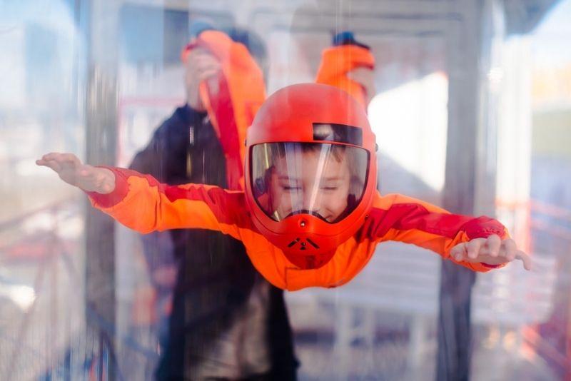indoor skydiving in Portland, Oregon