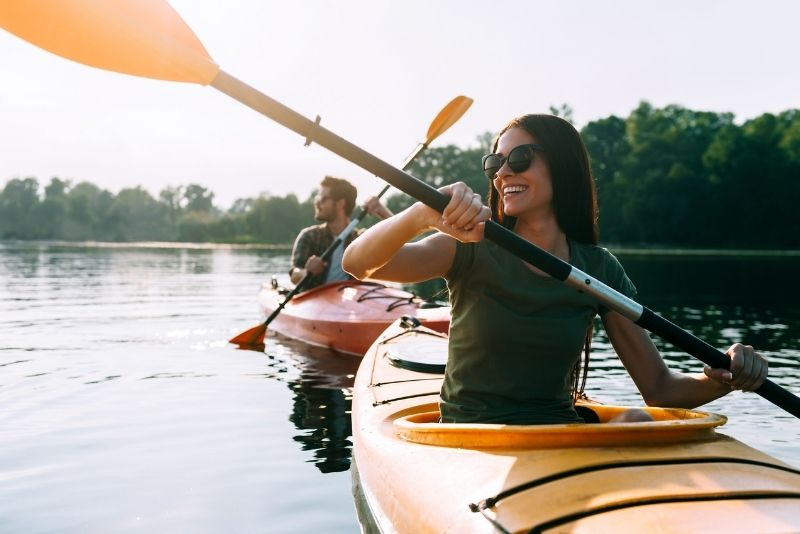 tour en kayak en Praga
