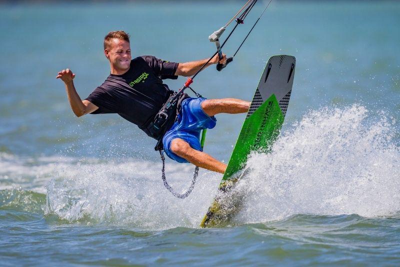 kitesurfing in Clearwater