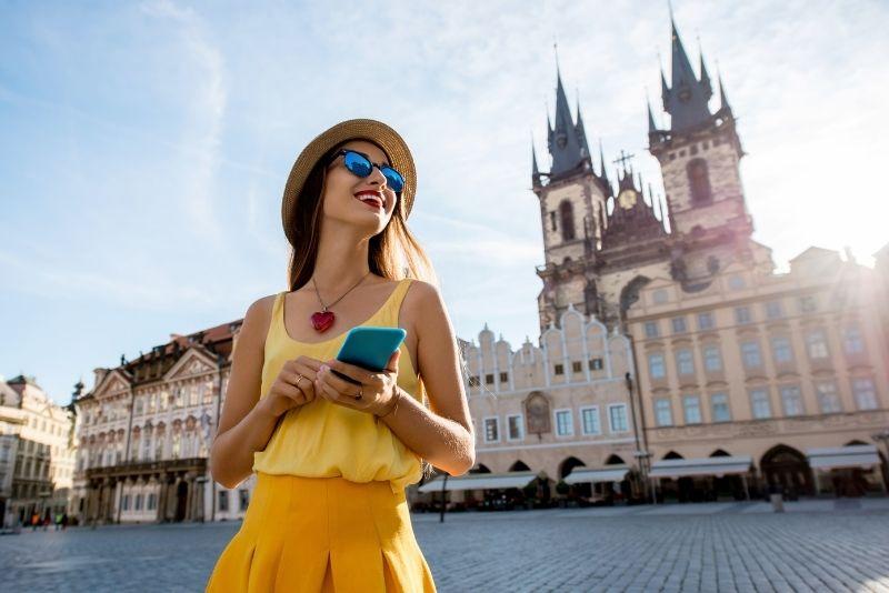 giochi al tesoro a Praga