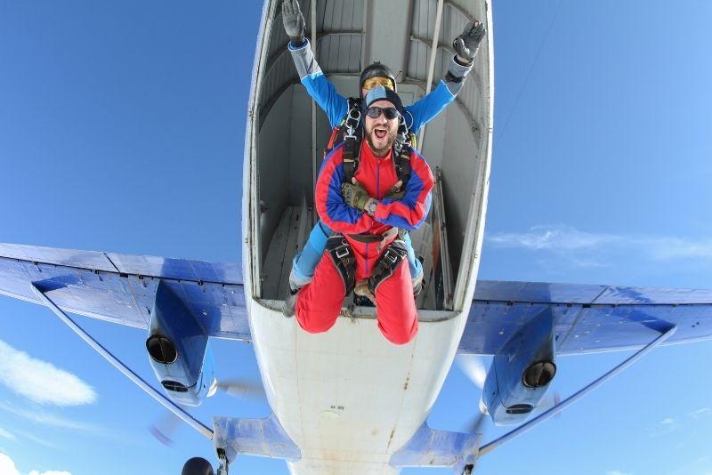 skydiving in Washington DC