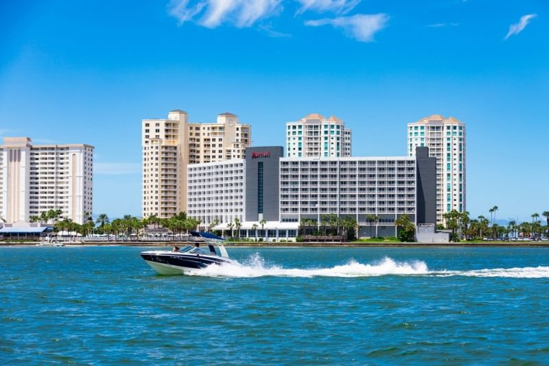 speed boat in Clearwater