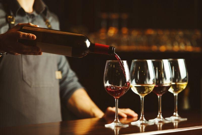 wine tasting in Seattle