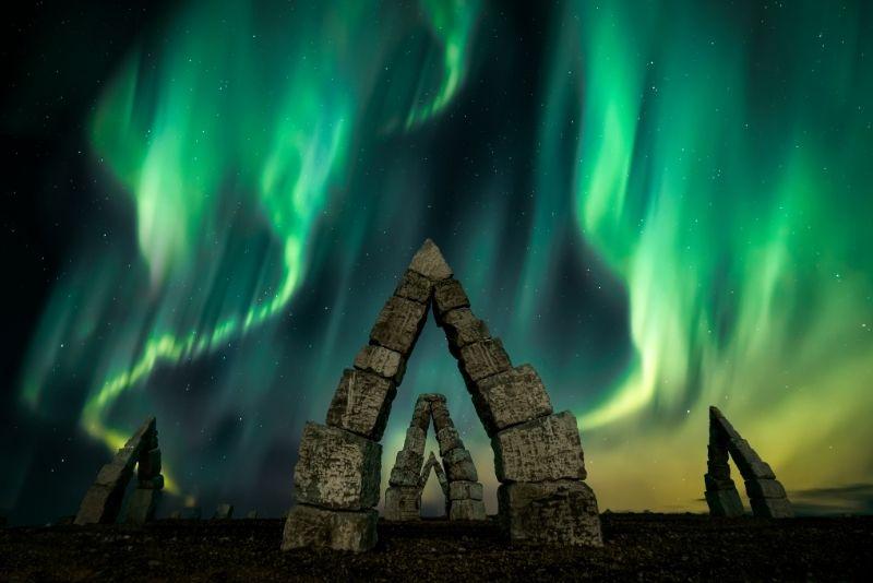 Arctic Henge, Island