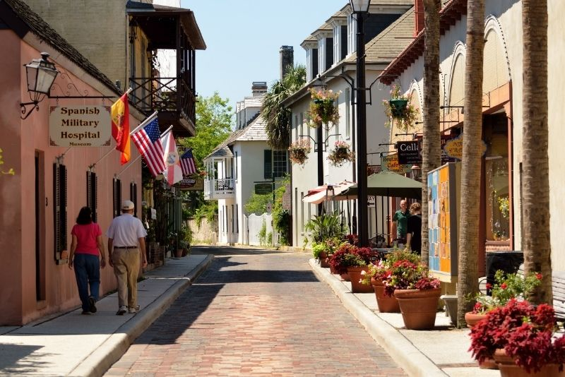 Aviles Street, St Augustine