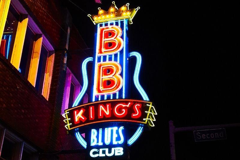 B.B. King's Blues Club, Memphis
