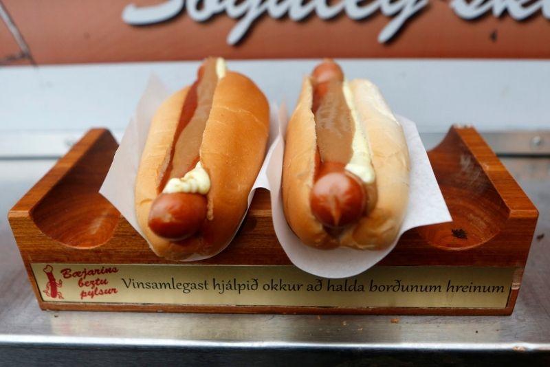 Bæjarins Beztu Pylsur, i migliori hot dog in Islanda
